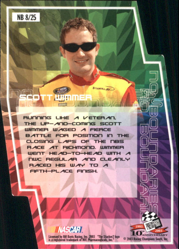 2003-Press-Pass-Racing-Eclipse-Stealth-Inserts-You-Pick-Buy-10-cards-FREE-SHIP thumbnail 34