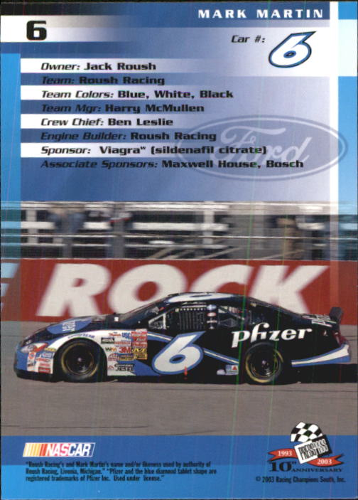 2003-Press-Pass-Racing-Eclipse-Stealth-Inserts-You-Pick-Buy-10-cards-FREE-SHIP thumbnail 48