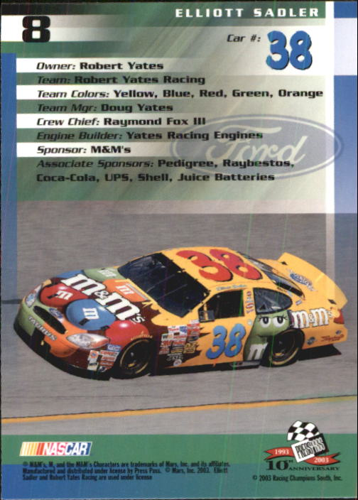 2003-Press-Pass-Racing-Eclipse-Stealth-Inserts-You-Pick-Buy-10-cards-FREE-SHIP thumbnail 52