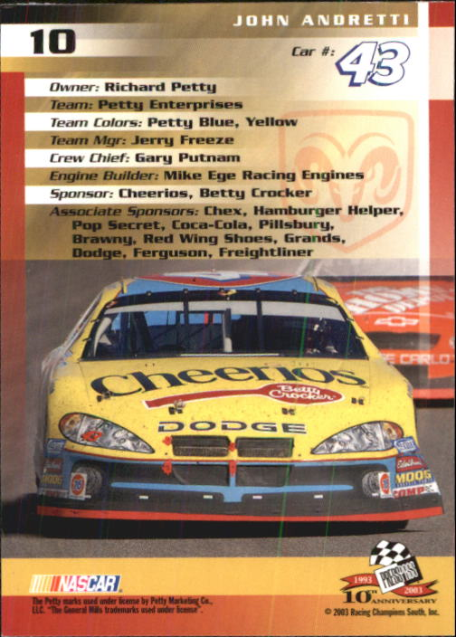 2003-Press-Pass-Racing-Eclipse-Stealth-Inserts-You-Pick-Buy-10-cards-FREE-SHIP thumbnail 56