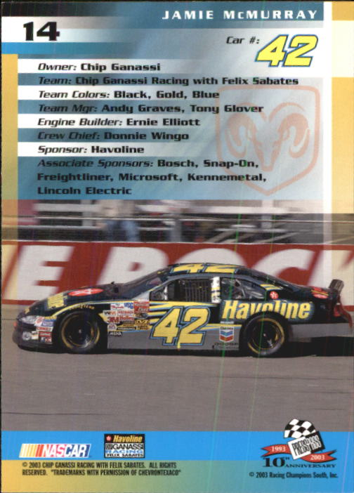 2003-Press-Pass-Racing-Eclipse-Stealth-Inserts-You-Pick-Buy-10-cards-FREE-SHIP thumbnail 64
