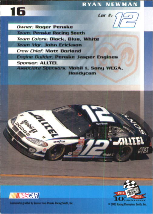 2003-Press-Pass-Racing-Eclipse-Stealth-Inserts-You-Pick-Buy-10-cards-FREE-SHIP thumbnail 68