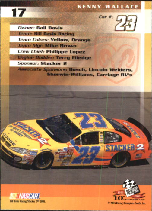 2003-Press-Pass-Racing-Eclipse-Stealth-Inserts-You-Pick-Buy-10-cards-FREE-SHIP thumbnail 70