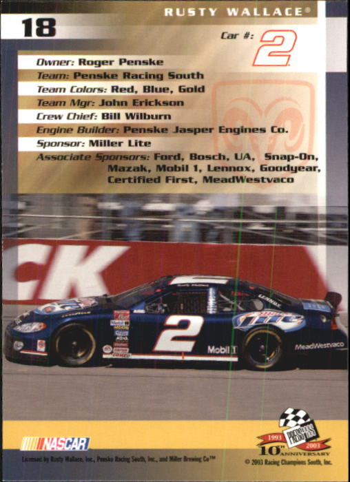 2003-Press-Pass-Racing-Eclipse-Stealth-Inserts-You-Pick-Buy-10-cards-FREE-SHIP thumbnail 72