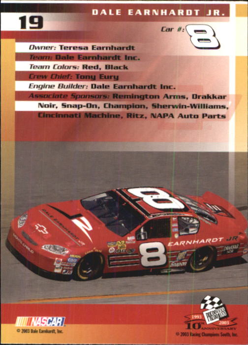 2003-Press-Pass-Racing-Eclipse-Stealth-Inserts-You-Pick-Buy-10-cards-FREE-SHIP thumbnail 74