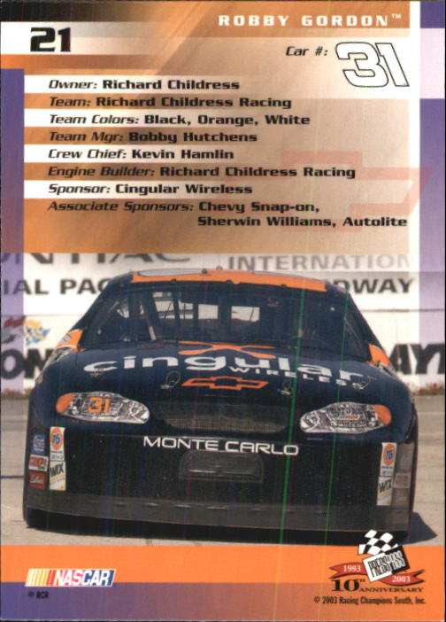 2003-Press-Pass-Racing-Eclipse-Stealth-Inserts-You-Pick-Buy-10-cards-FREE-SHIP thumbnail 78