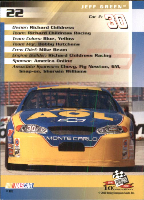 2003-Press-Pass-Racing-Eclipse-Stealth-Inserts-You-Pick-Buy-10-cards-FREE-SHIP thumbnail 80