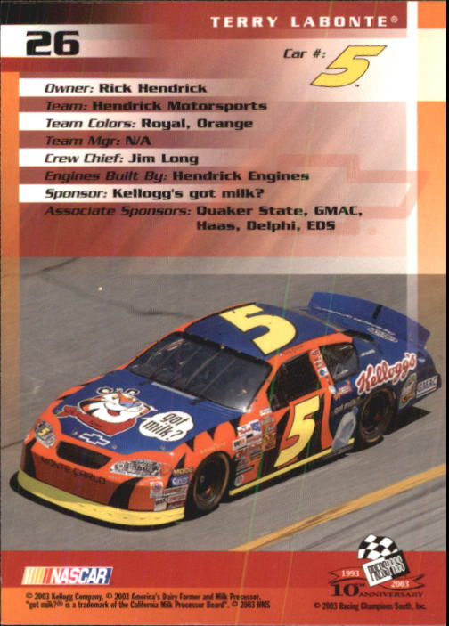 2003-Press-Pass-Racing-Eclipse-Stealth-Inserts-You-Pick-Buy-10-cards-FREE-SHIP thumbnail 88