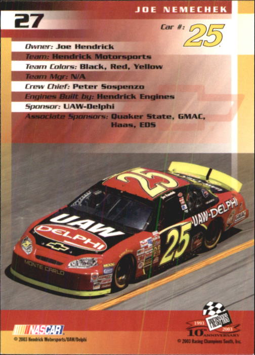 2003-Press-Pass-Racing-Eclipse-Stealth-Inserts-You-Pick-Buy-10-cards-FREE-SHIP thumbnail 90