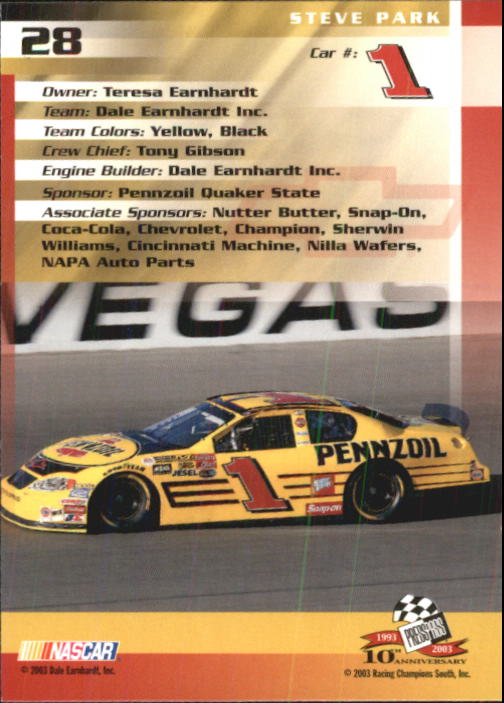 2003-Press-Pass-Racing-Eclipse-Stealth-Inserts-You-Pick-Buy-10-cards-FREE-SHIP thumbnail 92