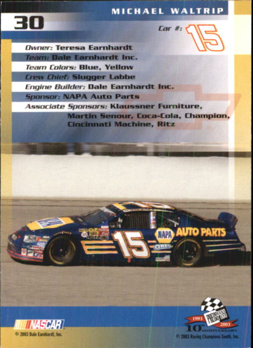 2003-Press-Pass-Racing-Eclipse-Stealth-Inserts-You-Pick-Buy-10-cards-FREE-SHIP thumbnail 95