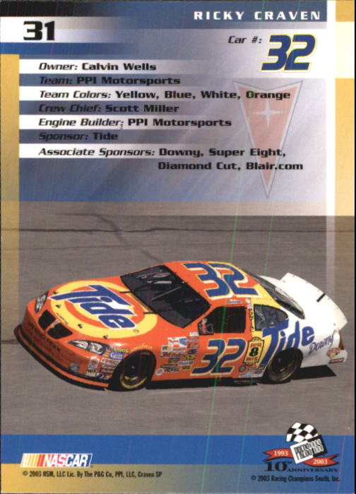 2003-Press-Pass-Racing-Eclipse-Stealth-Inserts-You-Pick-Buy-10-cards-FREE-SHIP thumbnail 97