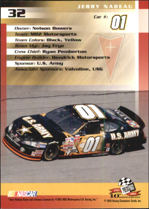 2003-Press-Pass-Racing-Eclipse-Stealth-Inserts-You-Pick-Buy-10-cards-FREE-SHIP thumbnail 99