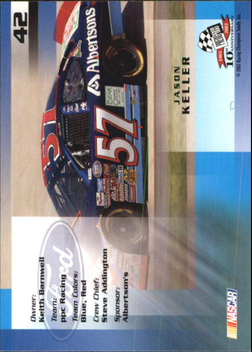 2003-Press-Pass-Racing-Eclipse-Stealth-Inserts-You-Pick-Buy-10-cards-FREE-SHIP thumbnail 119