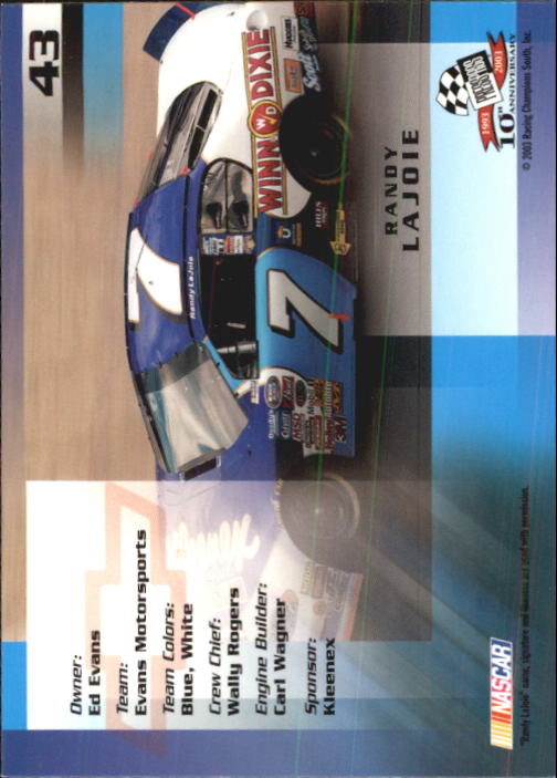 2003-Press-Pass-Racing-Eclipse-Stealth-Inserts-You-Pick-Buy-10-cards-FREE-SHIP thumbnail 121