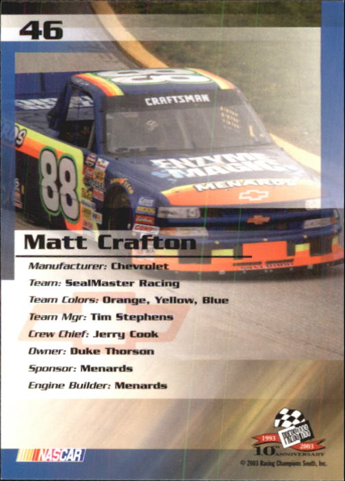 2003-Press-Pass-Racing-Eclipse-Stealth-Inserts-You-Pick-Buy-10-cards-FREE-SHIP thumbnail 127
