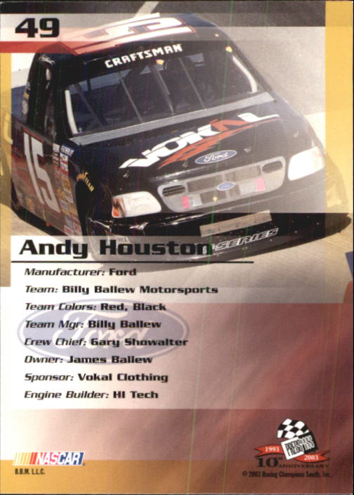 2003-Press-Pass-Racing-Eclipse-Stealth-Inserts-You-Pick-Buy-10-cards-FREE-SHIP thumbnail 131