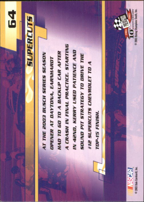 2003-Press-Pass-Racing-Eclipse-Stealth-Inserts-You-Pick-Buy-10-cards-FREE-SHIP thumbnail 161