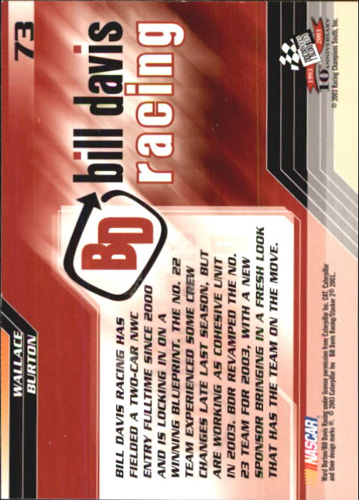 2003-Press-Pass-Racing-Eclipse-Stealth-Inserts-You-Pick-Buy-10-cards-FREE-SHIP thumbnail 179