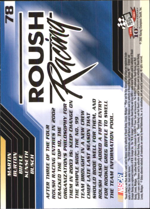 2003-Press-Pass-Racing-Eclipse-Stealth-Inserts-You-Pick-Buy-10-cards-FREE-SHIP thumbnail 189