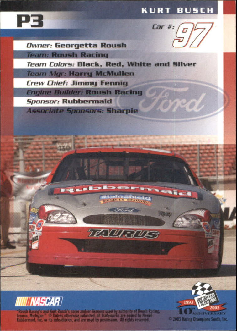 2003-Press-Pass-Racing-Eclipse-Stealth-Inserts-You-Pick-Buy-10-cards-FREE-SHIP thumbnail 199