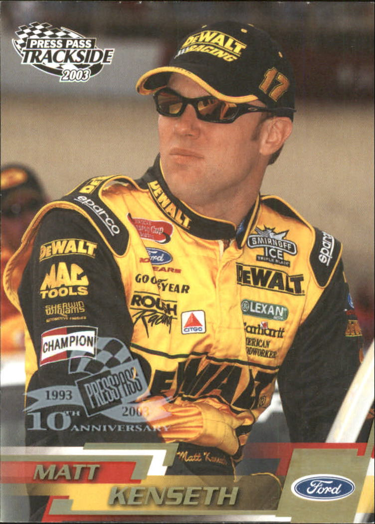 2003-Press-Pass-Racing-Eclipse-Stealth-Inserts-You-Pick-Buy-10-cards-FREE-SHIP thumbnail 202