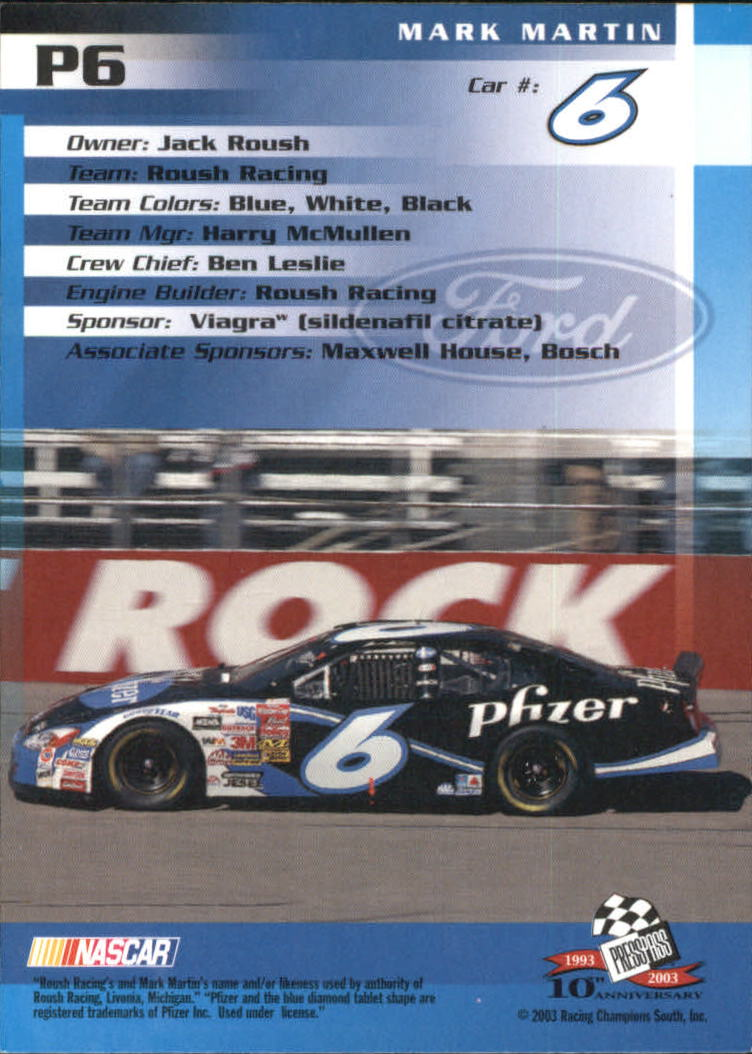 2003-Press-Pass-Racing-Eclipse-Stealth-Inserts-You-Pick-Buy-10-cards-FREE-SHIP thumbnail 205