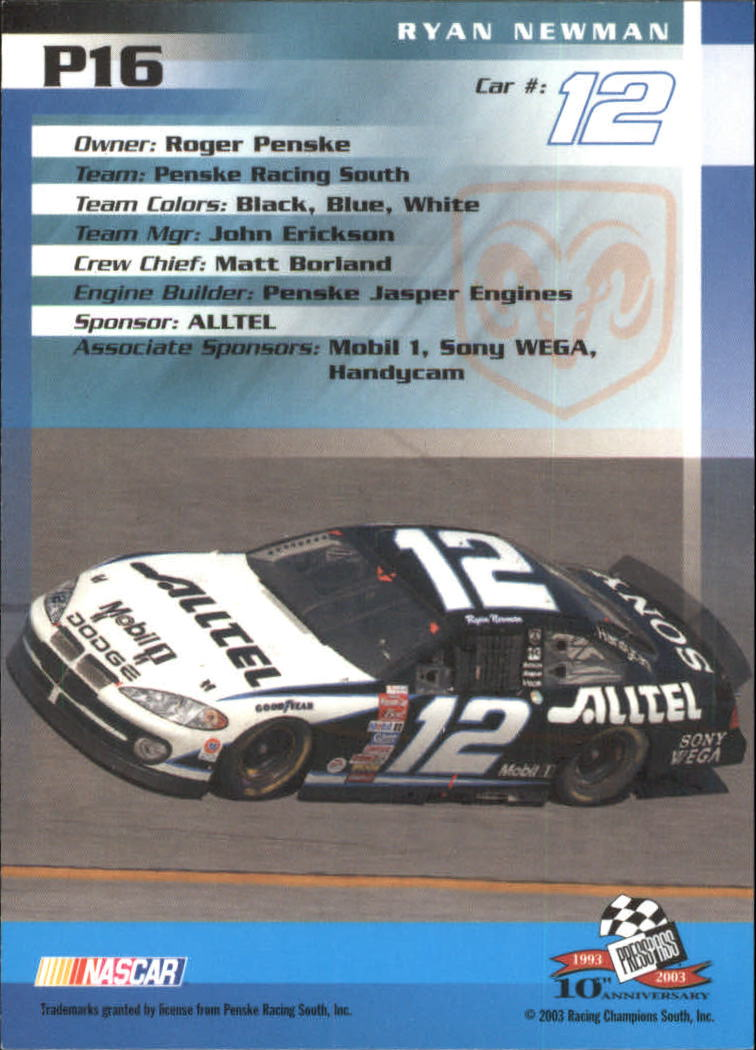 2003-Press-Pass-Racing-Eclipse-Stealth-Inserts-You-Pick-Buy-10-cards-FREE-SHIP thumbnail 215