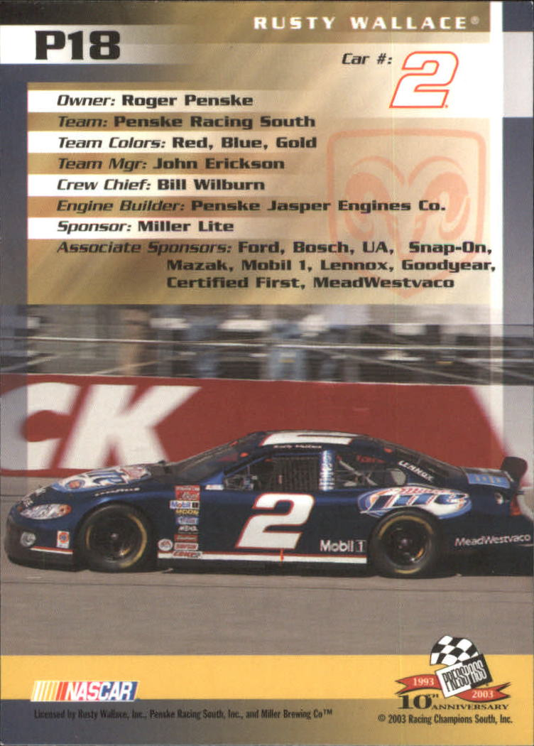 2003-Press-Pass-Racing-Eclipse-Stealth-Inserts-You-Pick-Buy-10-cards-FREE-SHIP thumbnail 219