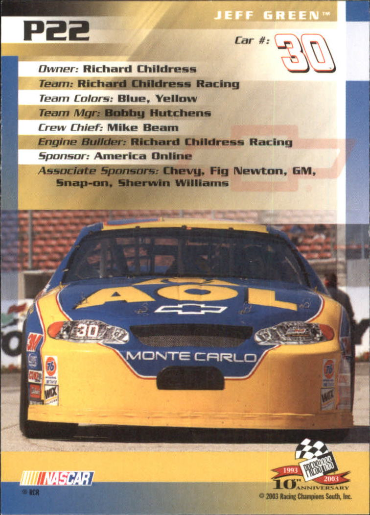 2003-Press-Pass-Racing-Eclipse-Stealth-Inserts-You-Pick-Buy-10-cards-FREE-SHIP thumbnail 223