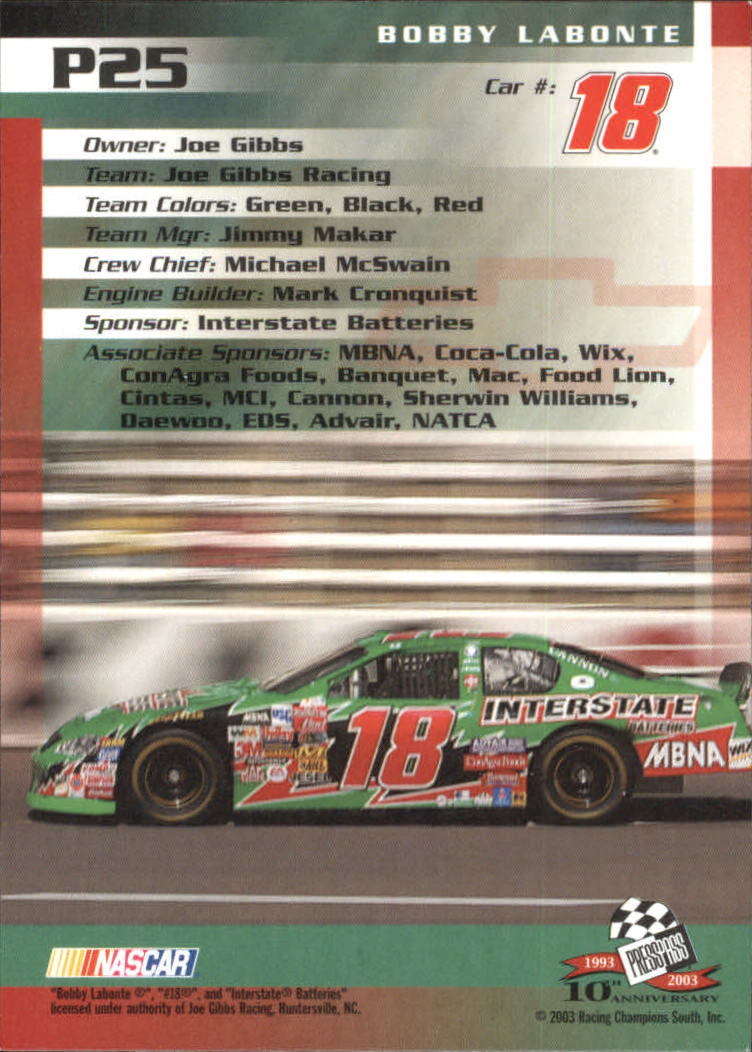 2003-Press-Pass-Racing-Eclipse-Stealth-Inserts-You-Pick-Buy-10-cards-FREE-SHIP thumbnail 227