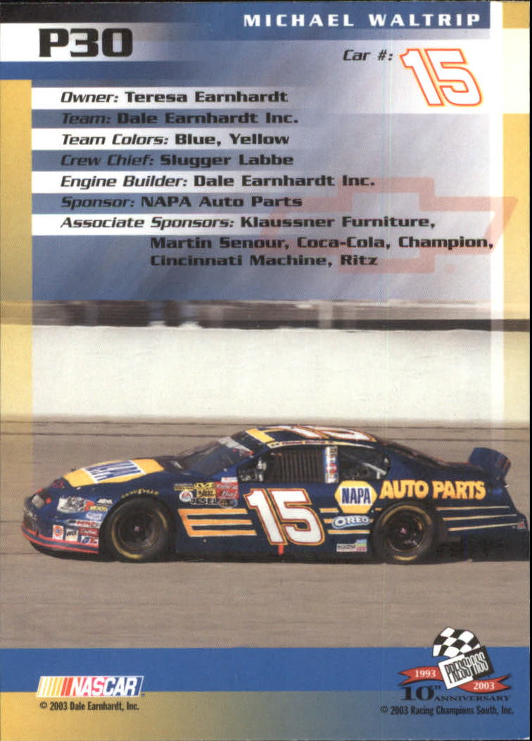 2003-Press-Pass-Racing-Eclipse-Stealth-Inserts-You-Pick-Buy-10-cards-FREE-SHIP thumbnail 233