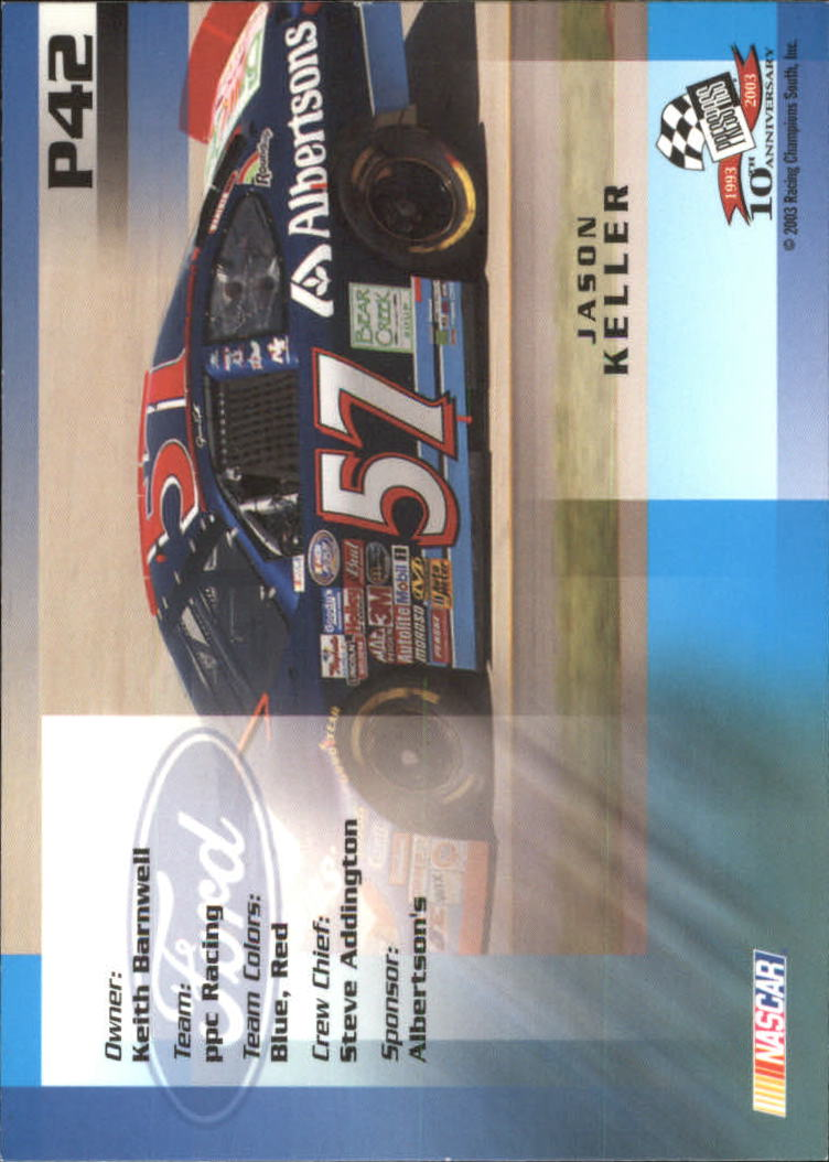 2003-Press-Pass-Racing-Eclipse-Stealth-Inserts-You-Pick-Buy-10-cards-FREE-SHIP thumbnail 249