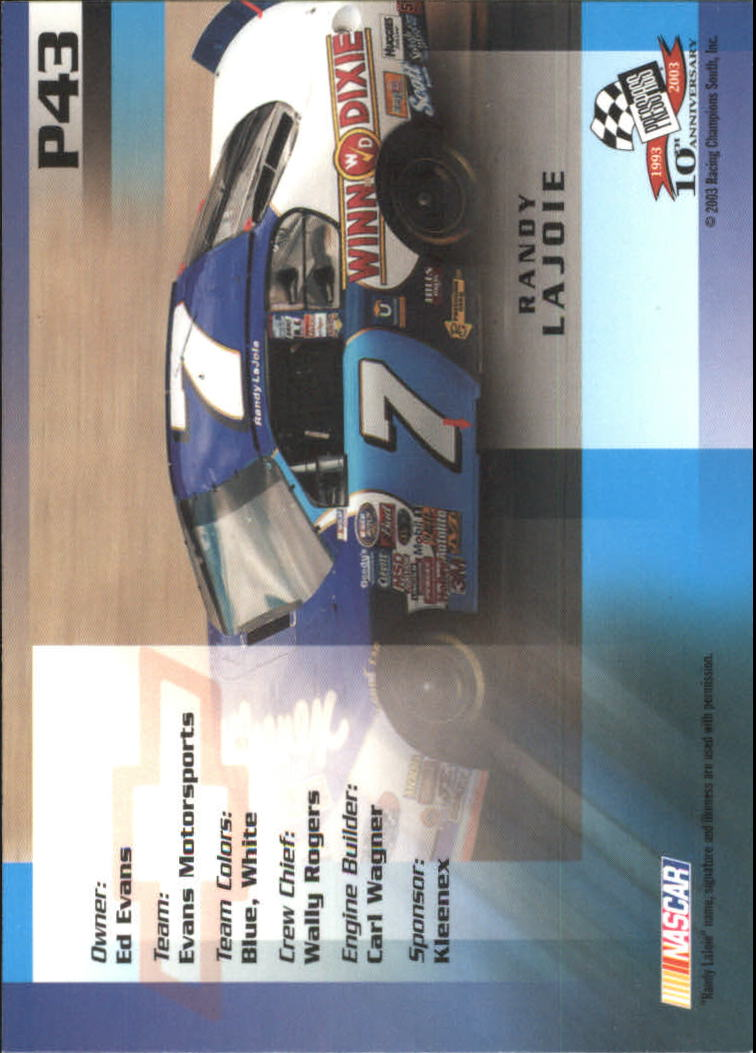 2003-Press-Pass-Racing-Eclipse-Stealth-Inserts-You-Pick-Buy-10-cards-FREE-SHIP thumbnail 251