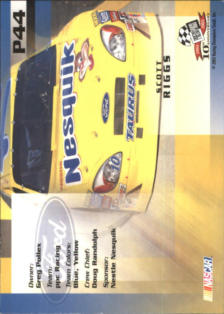 2003-Press-Pass-Racing-Eclipse-Stealth-Inserts-You-Pick-Buy-10-cards-FREE-SHIP thumbnail 253
