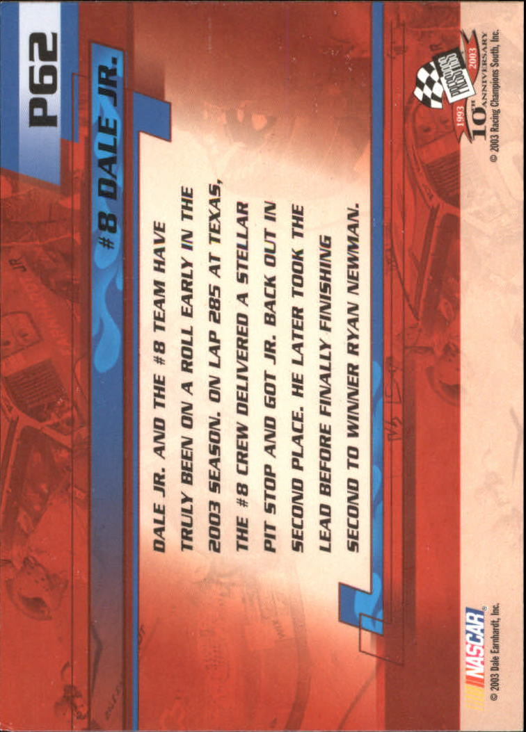 2003-Press-Pass-Racing-Eclipse-Stealth-Inserts-You-Pick-Buy-10-cards-FREE-SHIP thumbnail 279