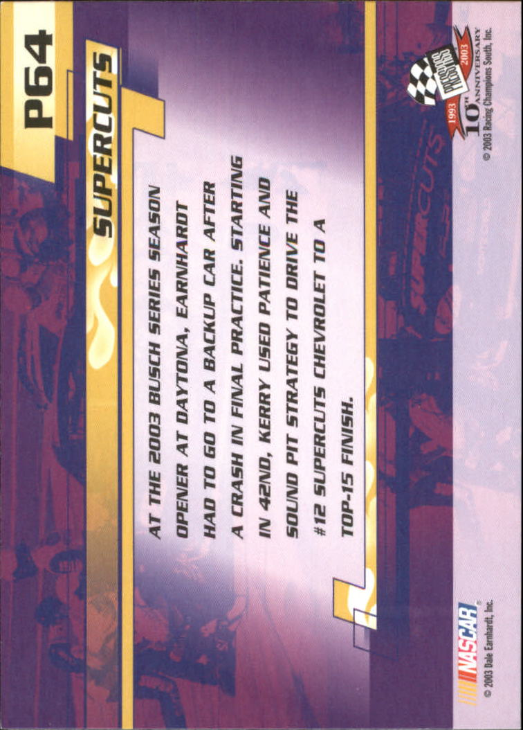2003-Press-Pass-Racing-Eclipse-Stealth-Inserts-You-Pick-Buy-10-cards-FREE-SHIP thumbnail 281