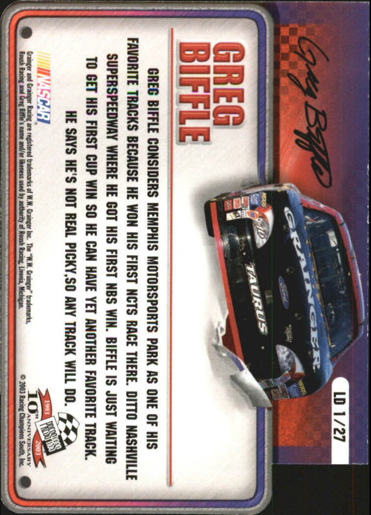 2003-Press-Pass-Racing-Eclipse-Stealth-Inserts-You-Pick-Buy-10-cards-FREE-SHIP thumbnail 307