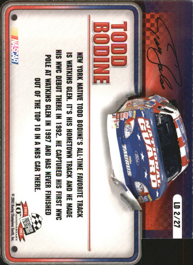 2003-Press-Pass-Racing-Eclipse-Stealth-Inserts-You-Pick-Buy-10-cards-FREE-SHIP thumbnail 309