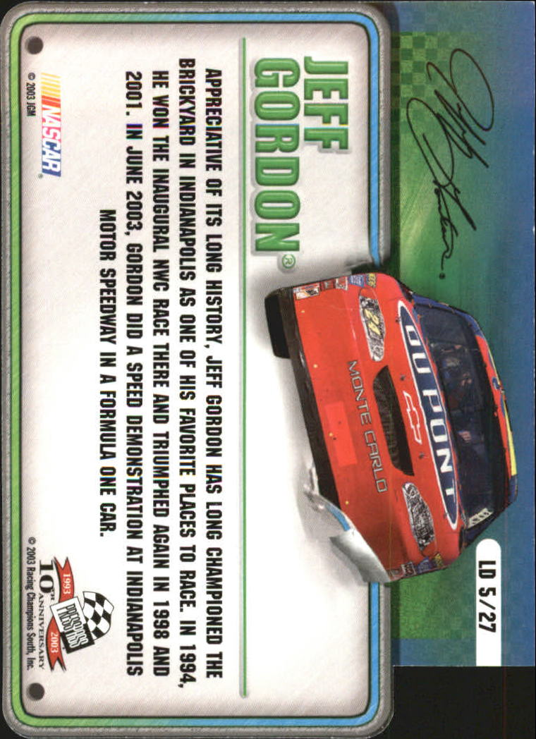 2003-Press-Pass-Racing-Eclipse-Stealth-Inserts-You-Pick-Buy-10-cards-FREE-SHIP thumbnail 311