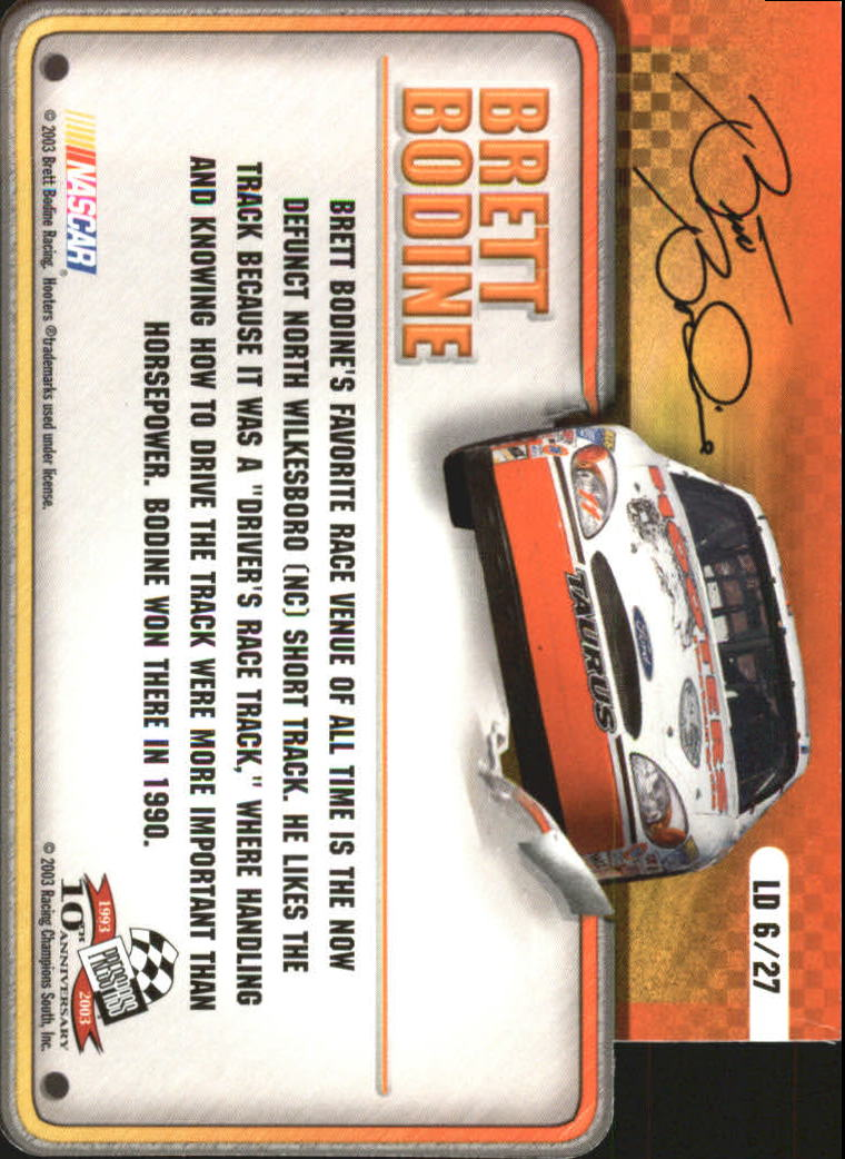 2003-Press-Pass-Racing-Eclipse-Stealth-Inserts-You-Pick-Buy-10-cards-FREE-SHIP thumbnail 313
