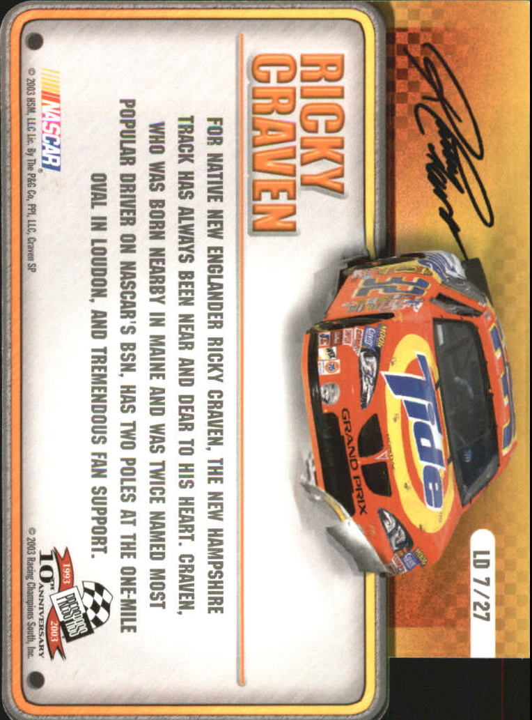 2003-Press-Pass-Racing-Eclipse-Stealth-Inserts-You-Pick-Buy-10-cards-FREE-SHIP thumbnail 315
