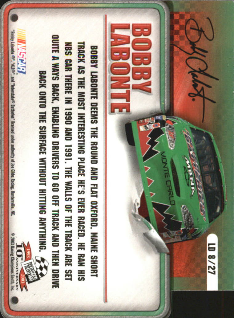 2003-Press-Pass-Racing-Eclipse-Stealth-Inserts-You-Pick-Buy-10-cards-FREE-SHIP thumbnail 317