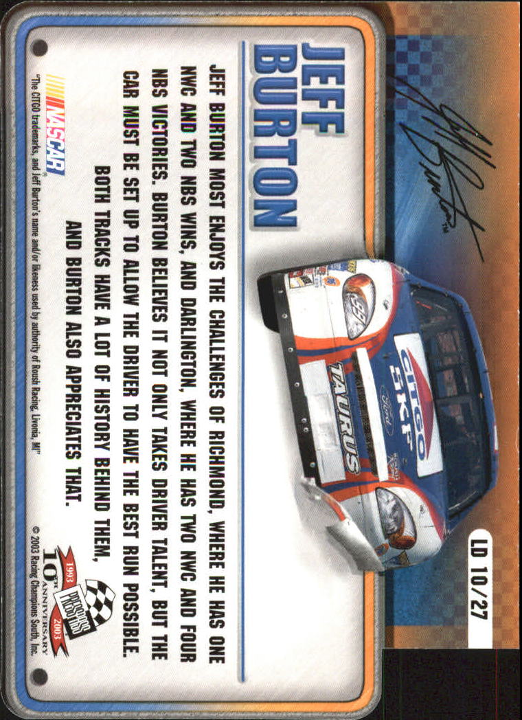 2003-Press-Pass-Racing-Eclipse-Stealth-Inserts-You-Pick-Buy-10-cards-FREE-SHIP thumbnail 319