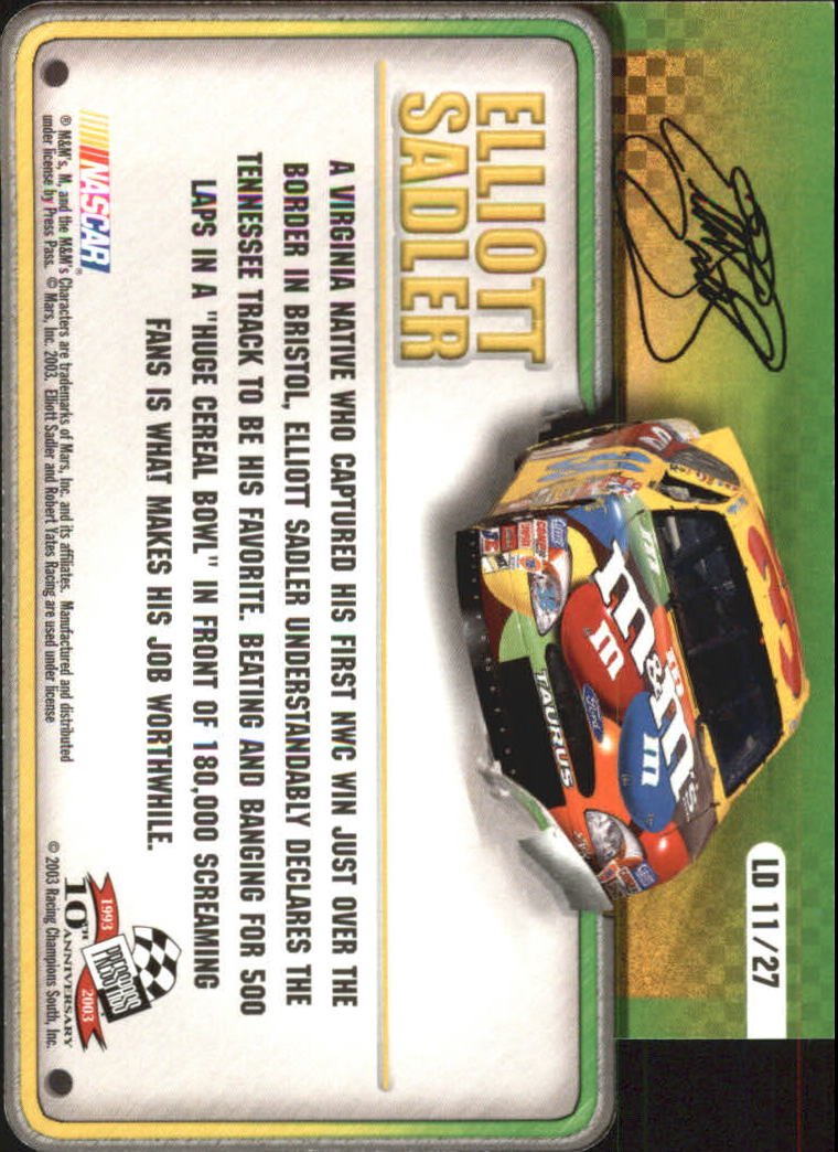 2003-Press-Pass-Racing-Eclipse-Stealth-Inserts-You-Pick-Buy-10-cards-FREE-SHIP thumbnail 321