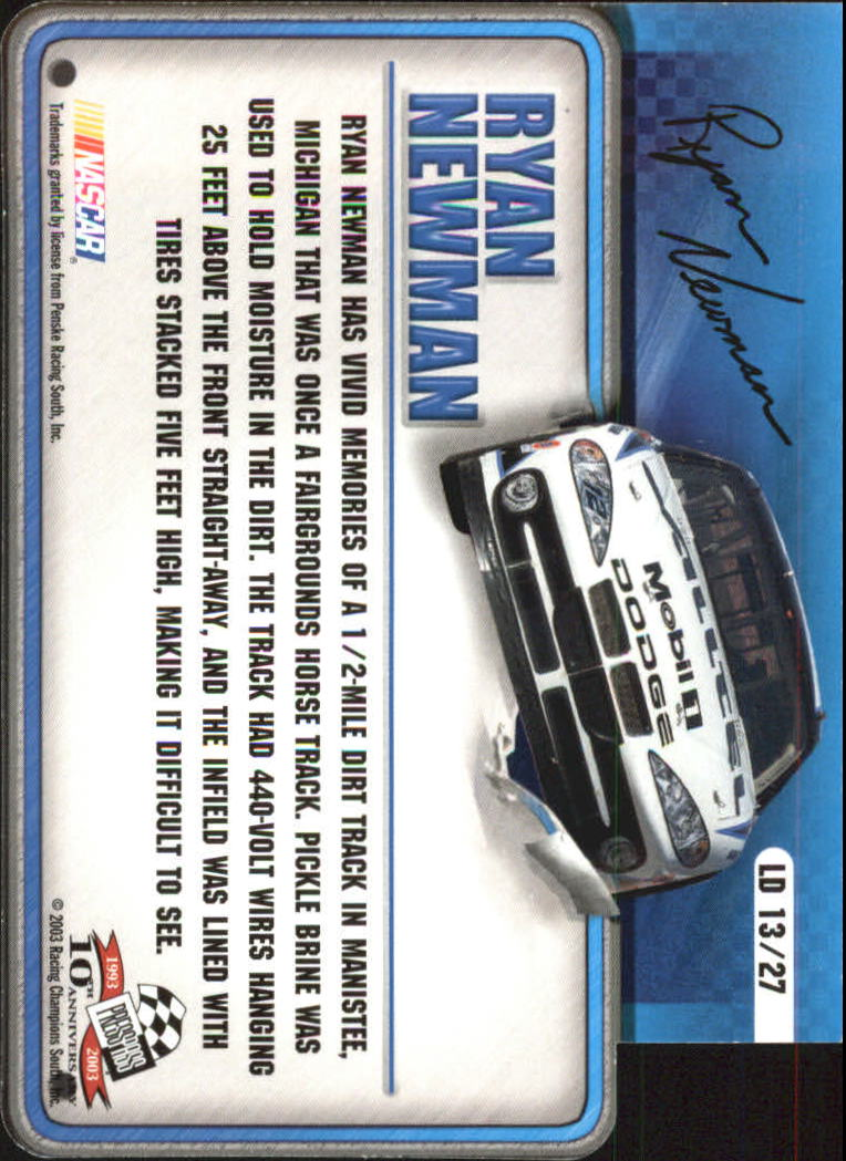 2003-Press-Pass-Racing-Eclipse-Stealth-Inserts-You-Pick-Buy-10-cards-FREE-SHIP thumbnail 325