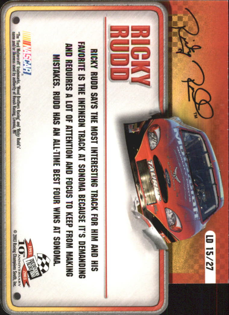 2003-Press-Pass-Racing-Eclipse-Stealth-Inserts-You-Pick-Buy-10-cards-FREE-SHIP thumbnail 327
