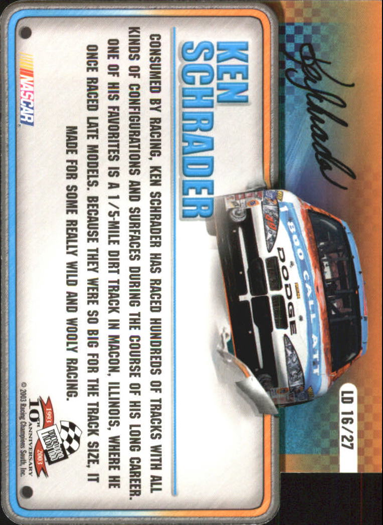 2003-Press-Pass-Racing-Eclipse-Stealth-Inserts-You-Pick-Buy-10-cards-FREE-SHIP thumbnail 329