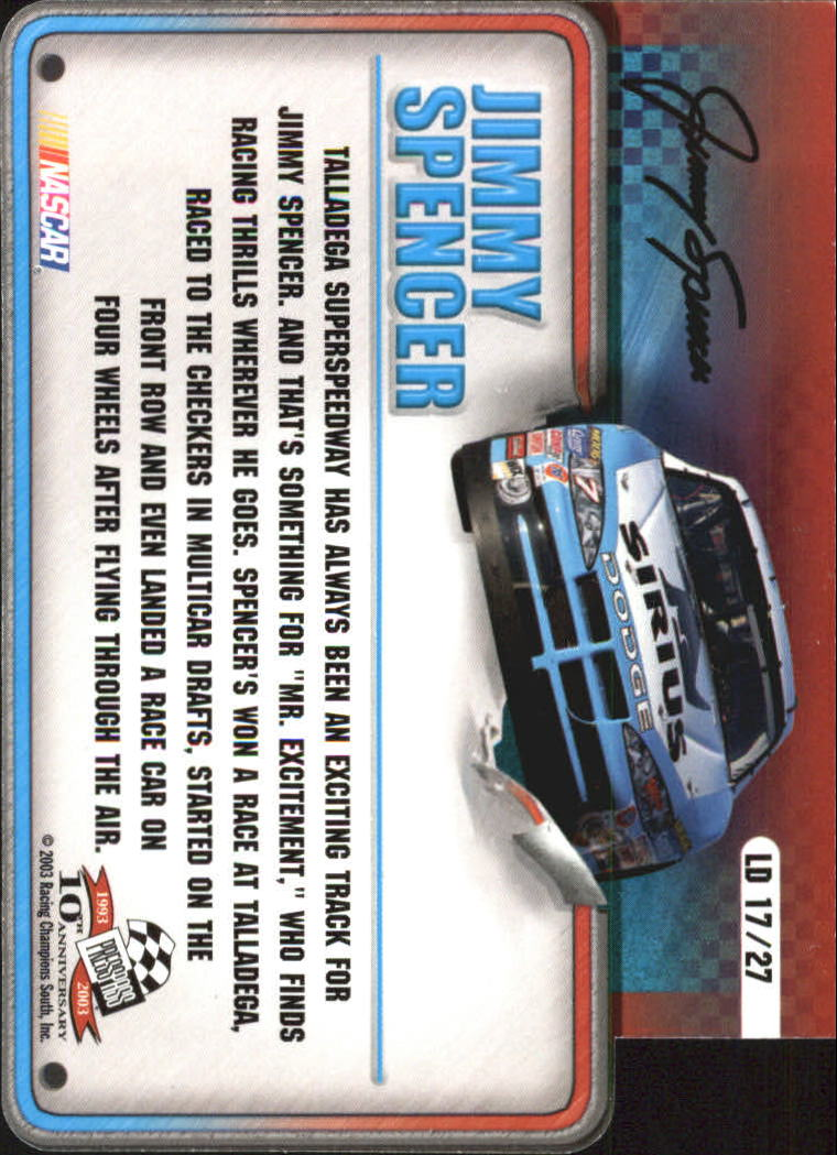2003-Press-Pass-Racing-Eclipse-Stealth-Inserts-You-Pick-Buy-10-cards-FREE-SHIP thumbnail 331