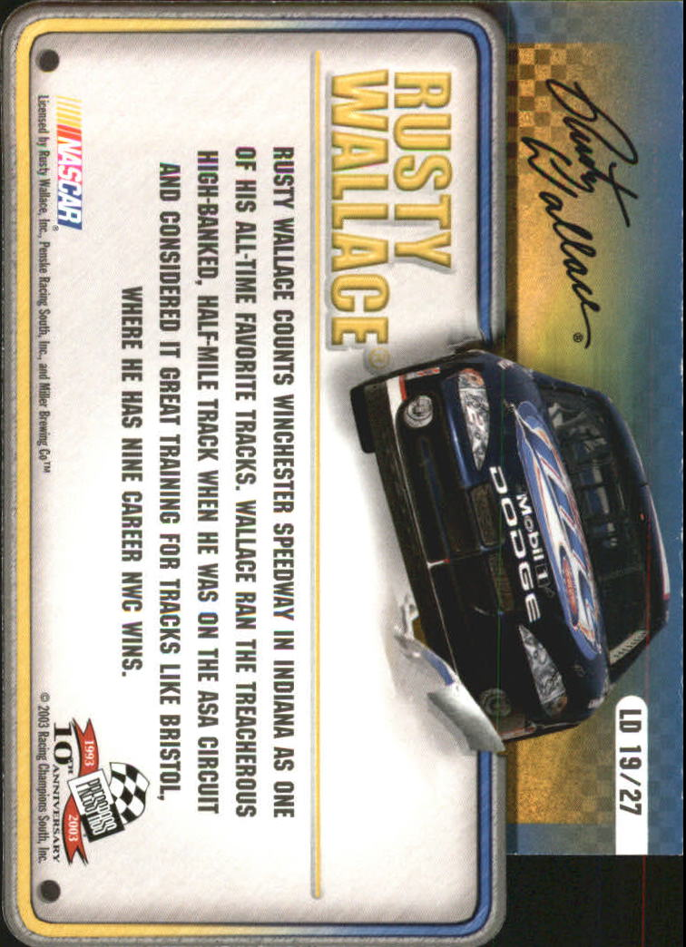 2003-Press-Pass-Racing-Eclipse-Stealth-Inserts-You-Pick-Buy-10-cards-FREE-SHIP thumbnail 335
